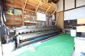 やねのヤマムラ(ヤマムラ板金 合同会社)の加工機械|板金切断機