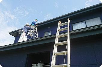 屋根の目視調査【雨漏り原因の特定方法|新潟|やねのヤマムラ】