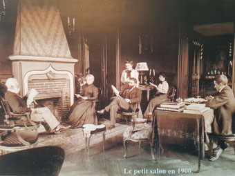 Baron Max de la Vernette et sa famille
