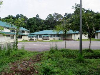 バンガローのような施設。