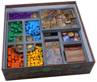 folded space insert organizer founders of gloomhaven foam core