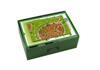 folded space insert organizer carcassonne