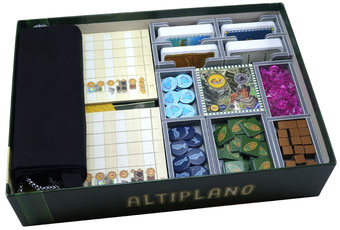 folded space insert organizer altiplano