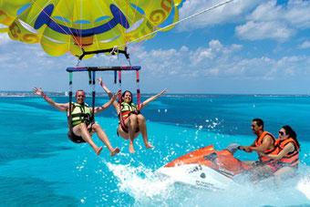 Wassersport in Lovina: Jetski, Wakeboard, Parasailing, Fly Board, Banana Boat und viele mehr