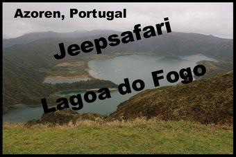 Azoren Insel Sao Miguel Lagoa do Fogo