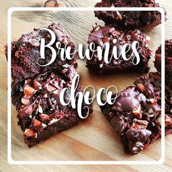 Brownies choco sans gluten vegan by kim - cuisinouverte.com