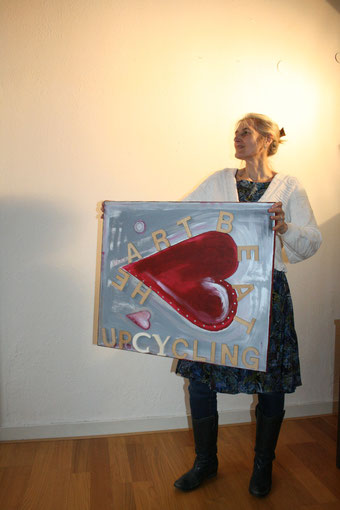 verkauft, Idee und Ausführung Beate Gernhardt Foto Henriks Porciks