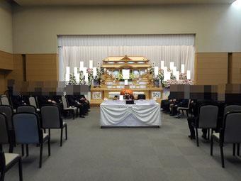 しののめ斎場葬儀風景