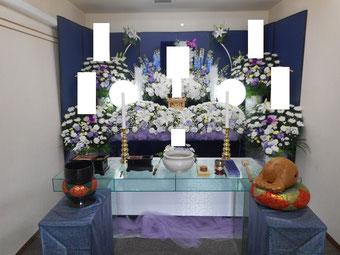戸田サービス館の生花祭壇