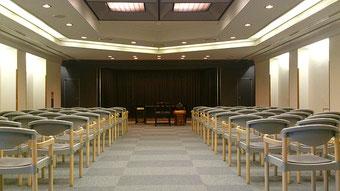 戸塚斎場の式場