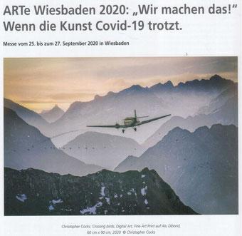 04.09.2020: Artikel aus der jüngsten ART Profil / Auch zum Download