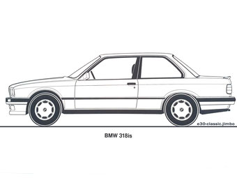 BMW 318is VT 26 Grafik