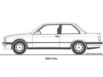 BMW 318is VT 26 Grafik