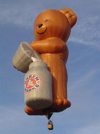 Guerilla Marketing von Bärenmarke