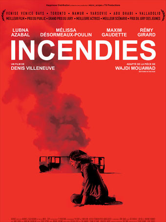 Incendies de Denis Villeneuve