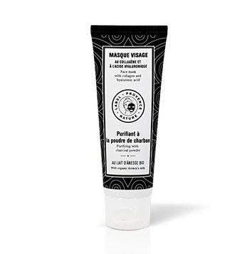 DS Kosmetik - Gesichtsmaske mit Kohle Label Provence Nature