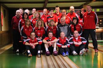 Die Auenheimer Sportkegler im Jubiläumsjahr 2013