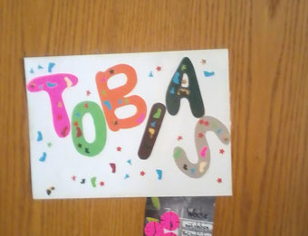 "Türschild ""Tobias"""