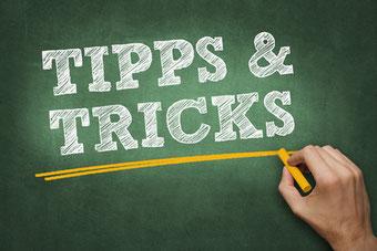 Tipps und Tricks für die schriftliche Prüfung