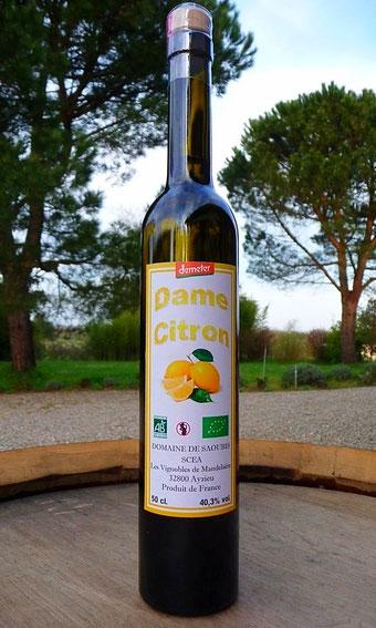 Bio Blanche Armagnac AOC, au citron