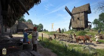 Windmühlen sind überall im Hildesheimer Land zu finden
