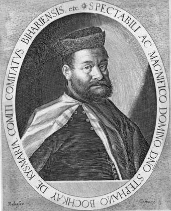 Istvan Bocskai, 1557-1606