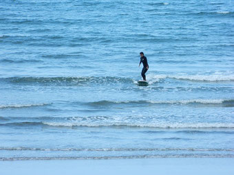 今日は小波でした。スクールでしたので写真は1枚。