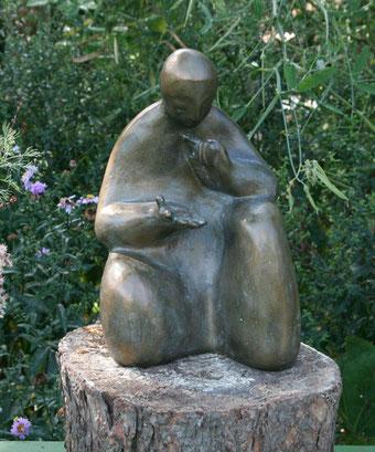 Bronze-Skulptur