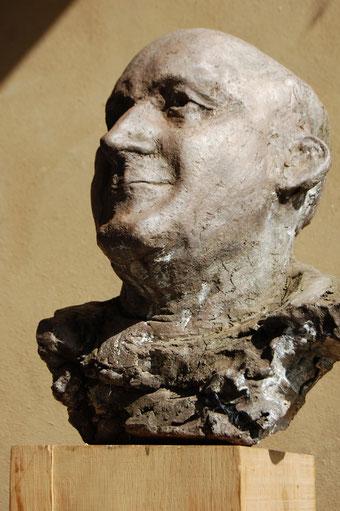 portret Jack Vinders, klei