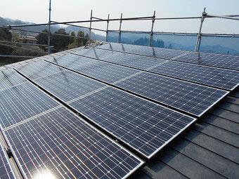 太陽光発電システム設置画像です。(同タイプ)