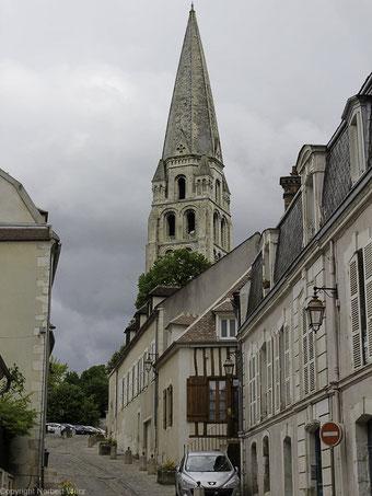 Bild: Turm der Abbaye de St. Germain