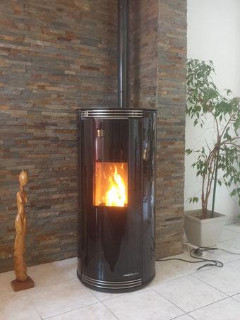 Installation en Essonne 91 poêle à granulés  B-energie granuleshop 2020
