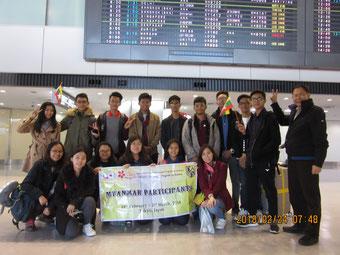(2/24)成田空港到着
