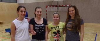 Fit mit Franz; Laura,Anna,Tamara und Bettina; März 2014