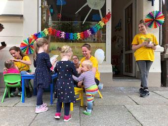 WIESENKNOPF® Kinderbetreuung für Veranstaltungen in Leipzig