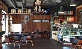 Phoenix See Dortmund cafe espresso perfetto