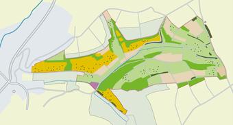 Karte Gelände