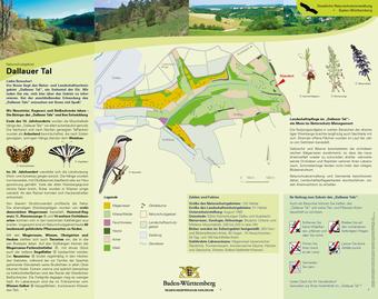 Infotafel Naturschutzgebiet