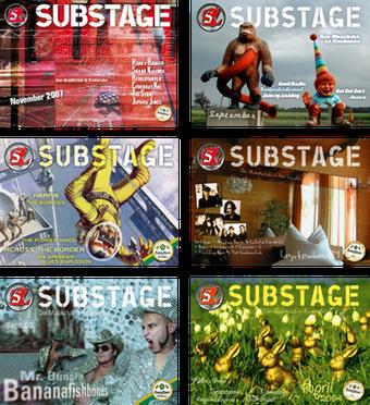 Monatsprogramm Substage Titelseite