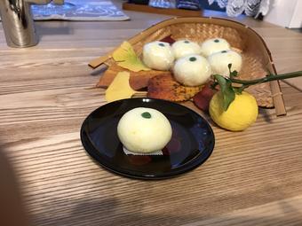 薯蕷柚子まんじゅう