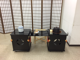 和菓子作りとお茶会イベント