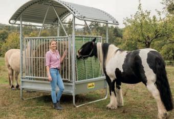 Agro-Widmer Stallbedarf - Futterraufe für Pferde Patura