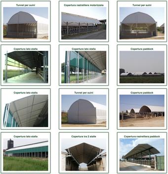 Agro-Widmer Stalleinrichtungen - Rundbogenzelte von CMT