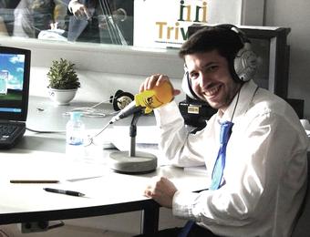 Daniel González Herrera, becario «Europe Direct» en Salamanca