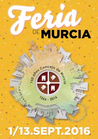 Feria de Murcia 2016 Programa