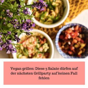 Postvorschlag 1: Vegan grillen: Diese 3 Salate dürfen auf der nächsten Grillparty auf keinen Fall fehlen