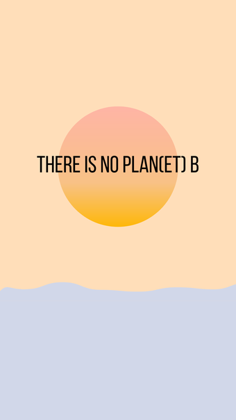 There is no plan(et) B Wallpaper RiekesBlog