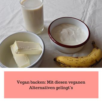 Postvorschlag 1: Vegan backen: Mit diesen veganen Alternativen gelingt's