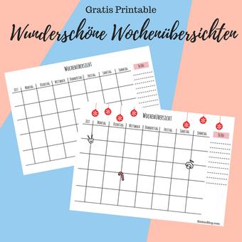 Postvorschlag: Wunderschöne Wochenübersicht RiekesBlog.com