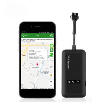 Mini coche GPS Tracker GPS localizador cortar combustible TK110 GT02A GSM rastreador GPS para coche 12-36 V los mapas de Google en tiempo real el seguimiento de APP gratuita